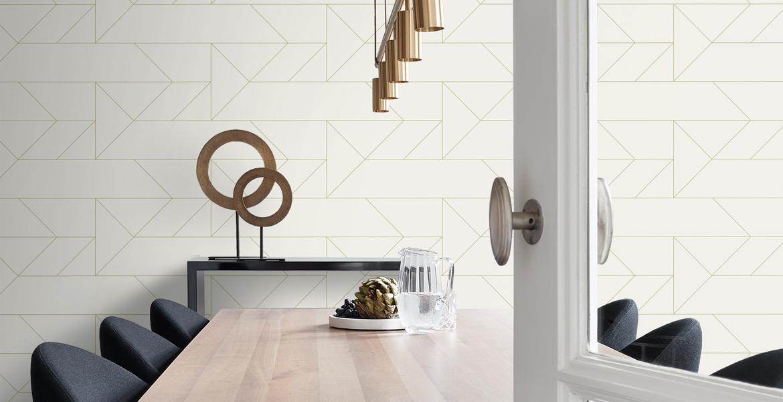 papier peint moderne