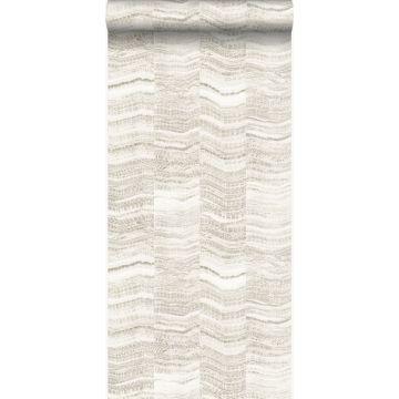 papier peint rayures en morceaux de marbre stratifié beige
