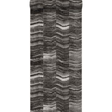 papier peint rayures en morceaux de marbre stratifié noir