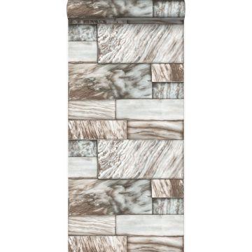 papier peint pierres de marbre marron clair
