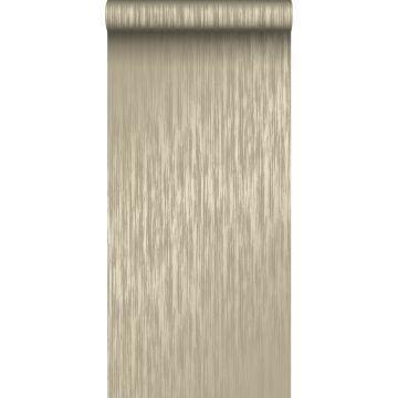 papier peint rayures fines marron clair