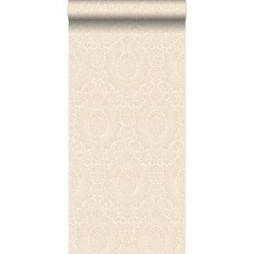 papier peint ornement blanc antique