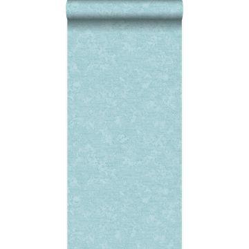 papier peint uni bleu glace