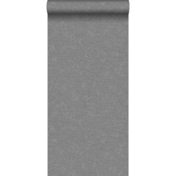 papier peint uni gris foncé
