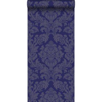 papier peint ornement violet