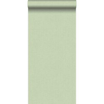 papier peint structure fine vert