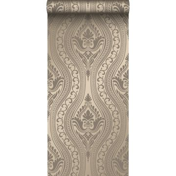 papier peint ornement bronze brillant