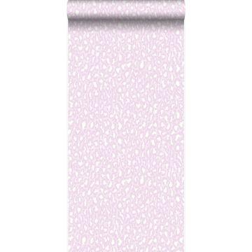 papier peint léopards rose