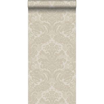 papier peint ornement cervine