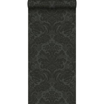 papier peint ornement noir