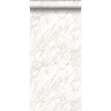 papier peint marbre beige clair