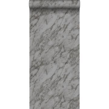 papier peint marbre gris