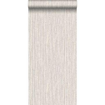 papier peint bambou sable beige