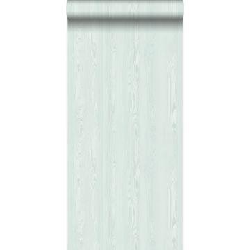 papier peint imitation bois vert menthe clair