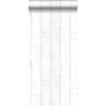 papier peint imitation bois blanc d'ivoire