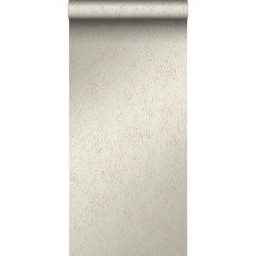 papier peint plaque métallique vieillie, altérée et touchée par les intempéries argent chaud