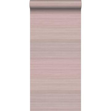 papier peint structure tissée avec des couleurs dégradées vieux rose