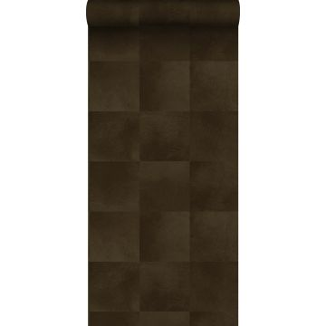 papier peint texture de peau d'animal brun rouille