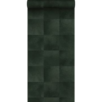 papier peint texture de peau d'animal vert foncé