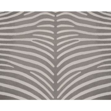 papier peint panoramique peau de zèbre gris