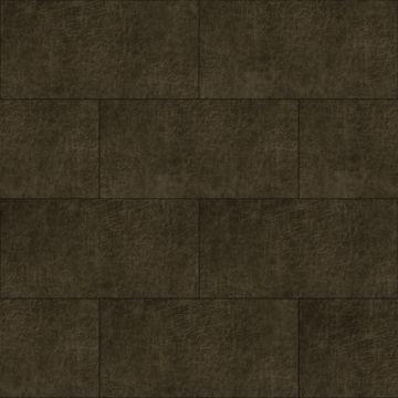 panneaux muraux éco-cuir adhésifs rectangle brun foncé