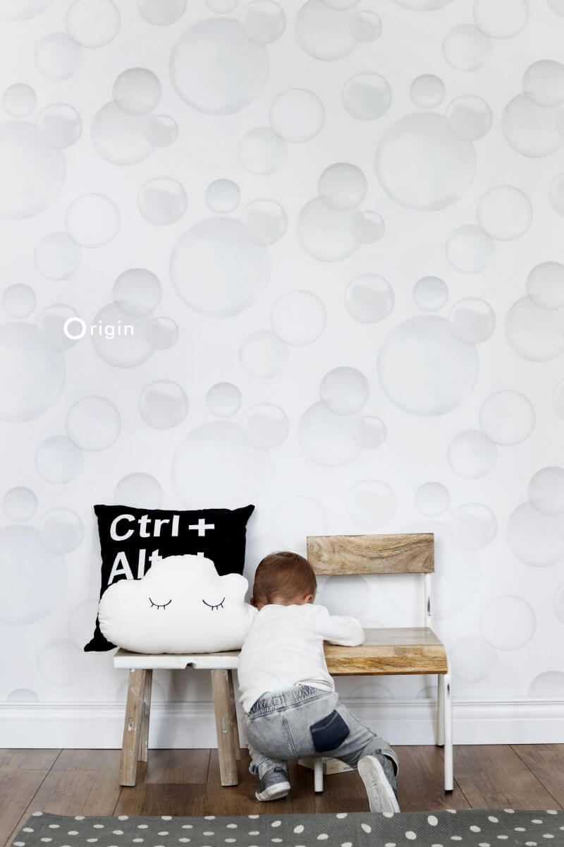 wallpaper with bubbles
